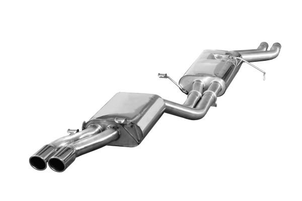 BN Pipes Sportauspuff für Audi V8 - Typ 4C (D11)