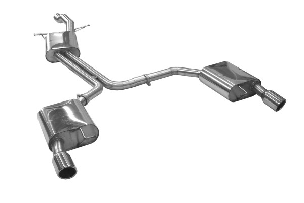 BN Pipes Sportauspuff für Audi A4 - Typ B8