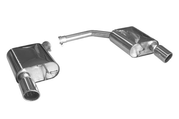 BN Pipes Endschalldämpfer für Audi A5 - Typ B8