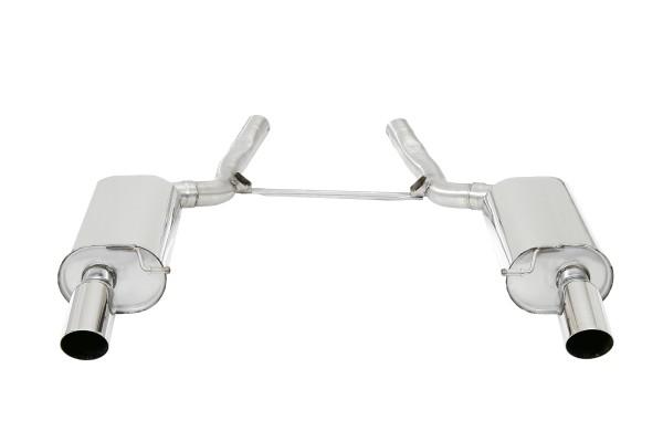 BN Pipes Endschalldämpfer für Audi A6 / S6 - Typ 4B / C5
