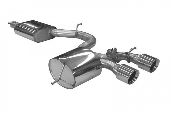 BN Pipes Sportauspuff für VW Golf 5 R32 - Typ 1K